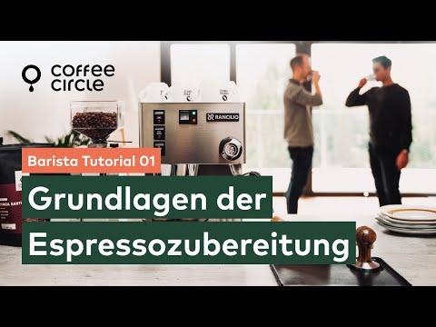 Barista Tutorial: 1. Grundlagen der Espressozubereitung