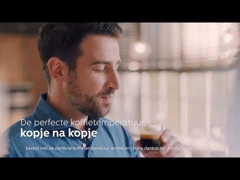 PHILIPS EP2221/40 - Espressomachine - Productvideo Vandenborre.be
