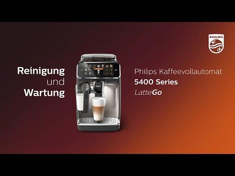 Philips 5400 LatteGo | Reinigung und Wartung