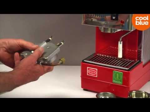 Quick Mill 820 Rood videoreview en unboxing (NL/BE)
