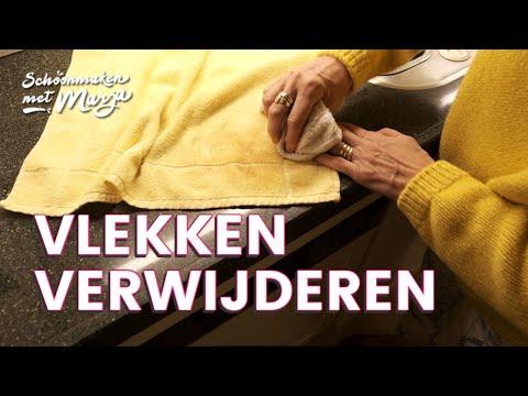 Handige tips bij het verwijderen van vlekken 👚 Schoonmaken met Marja Middeldorp