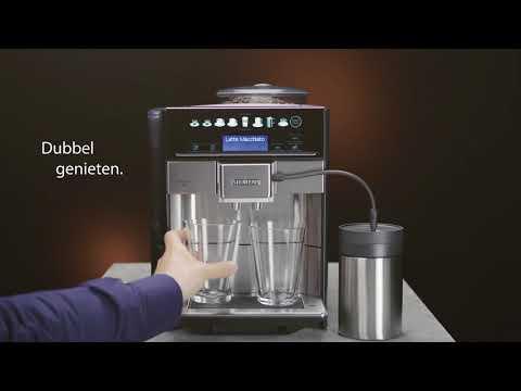 Siemens EQ.6 plus. De perfecte koffie met een persoonlijke touch.
