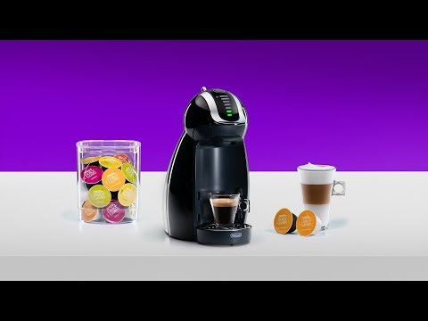 Set up your NESCAFÉ® Dolce Gusto® Genio 2 coffee machine by De'Longhi®