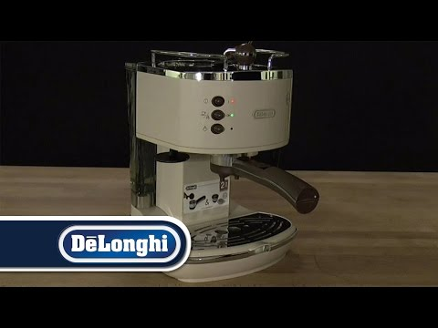 De'Longhi How To First Use Icona