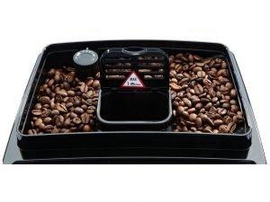 koffiemachine bonenreservoir