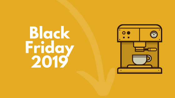 Black Friday koffiemachines