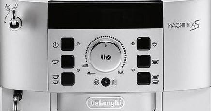 Volautomatische koffiemachine display