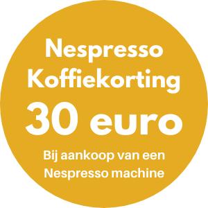 Nespresso 30 euro Koffiekorting