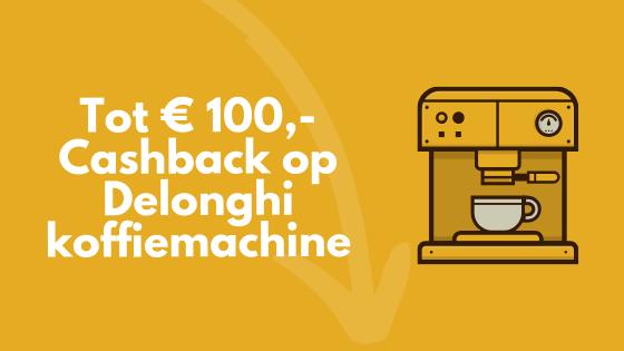 Cashback Delonghi