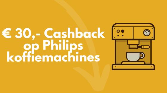 Cashback Philips koffiemachine