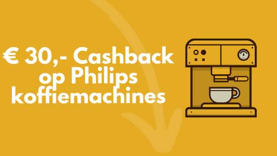 Philips Cashback koffiemachine