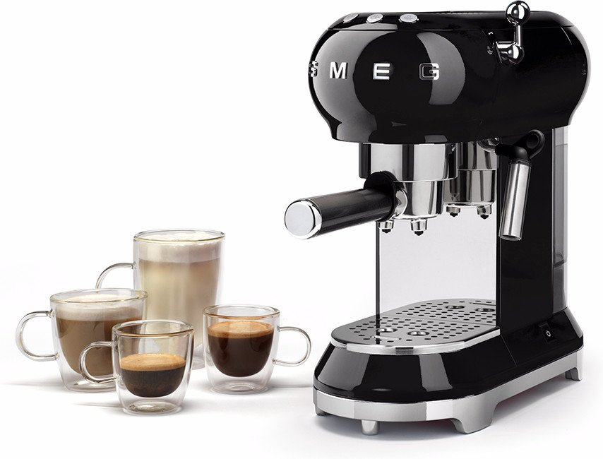 Beste Smeg koffiezetapparaat ECF01