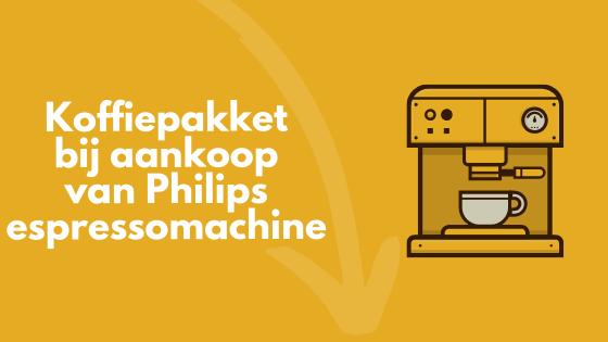 Philips koffiepakket