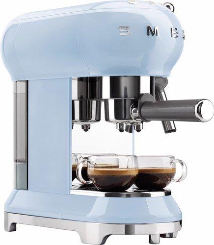 koffiezetapparaat pastelblauw