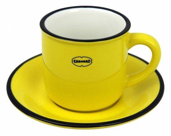 Cabanaz Espresso kop & schotel