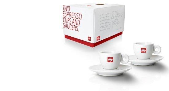 Illy espresso kopjes