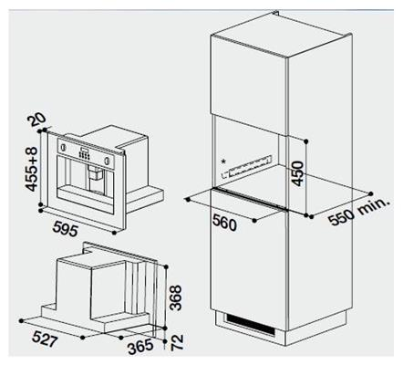 inbouw koffiemachine Bauknecht
