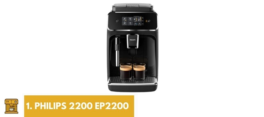 beste koffiemachine kantoor philips 2200