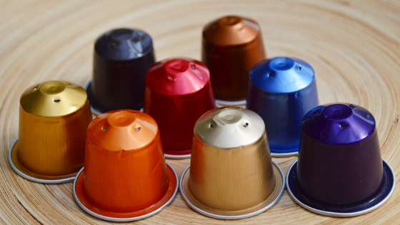 koffiecups recyclen nespresso dolce gusto