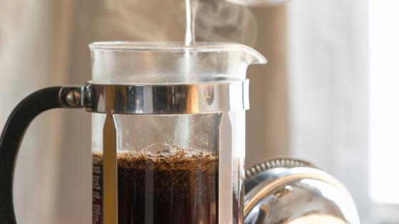 French Press koffie zetten