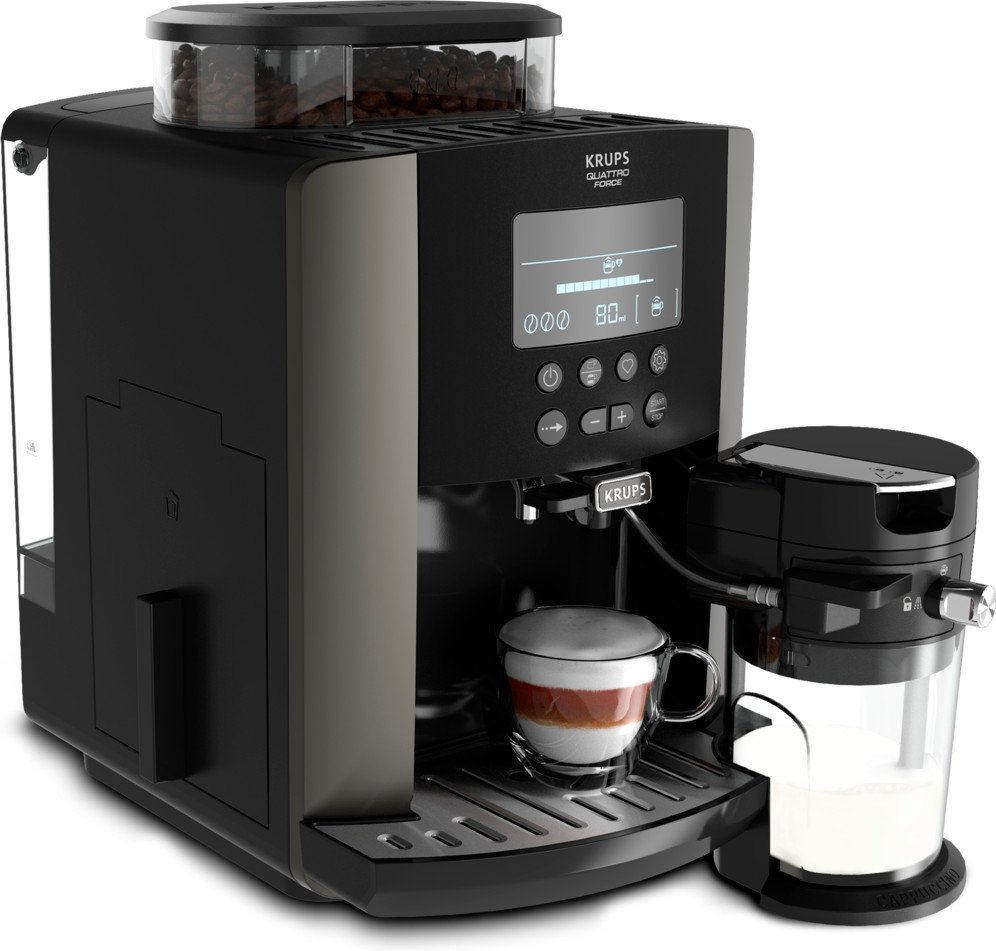 Krups koffiemachine met melkreservoir