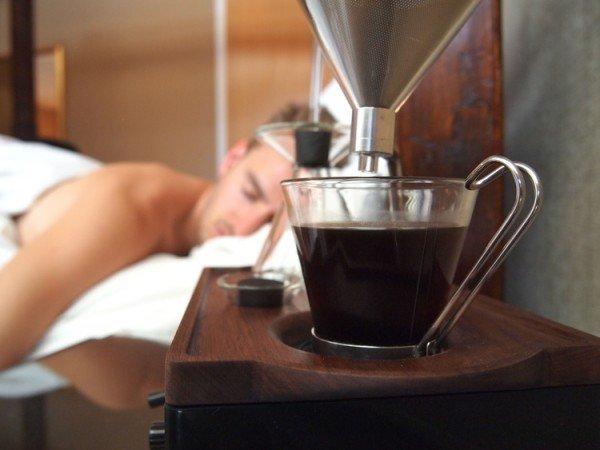 Barisieur koffiewekker uitvinder