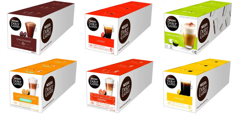 Beste Dolce Gusto cups
