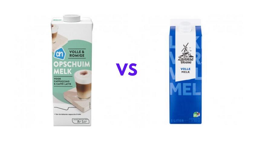wat is cappuccino melk