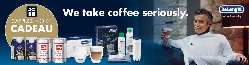 De'Longhi cashback gratis cappuccinopakket