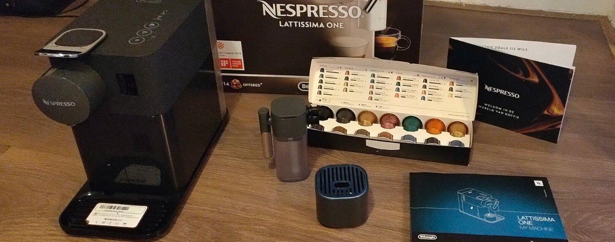 Nespresso Lattissima One inhoud