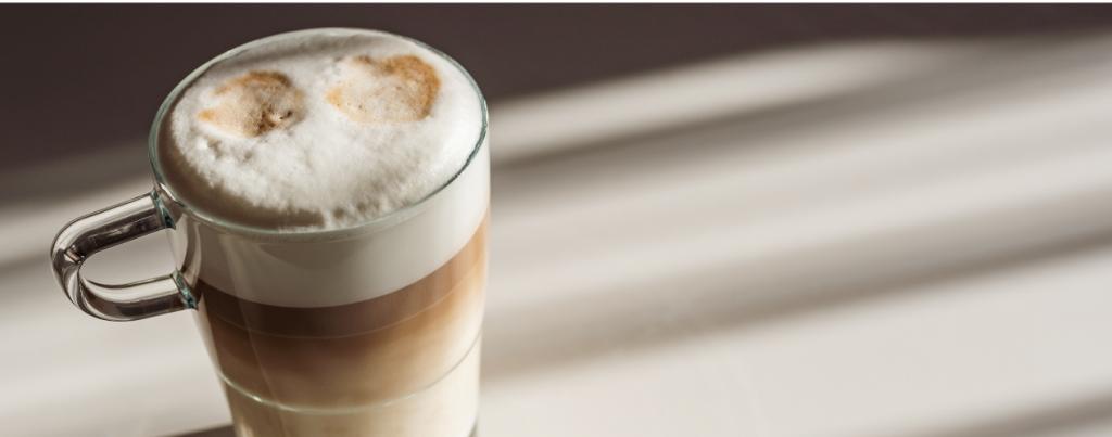 Soorten latte macchiato machines