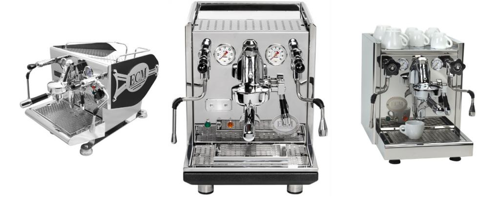ECM espresso machines
