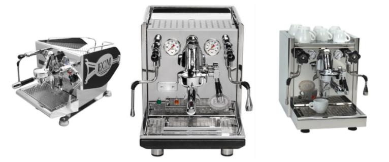 Beste barista koffiemachines: ECM espresso
