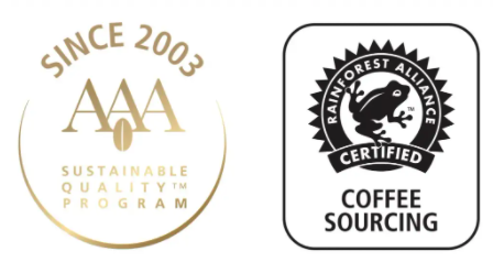 Rainforest Alliance Certified™ und Nespresso AAA Sustainable Quality Program™