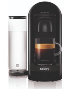 Krups Nespresso Vertuo Plus Round Zwart