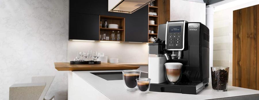 Beste Latte Macchiato Maschine: De'Longhi Dinamica ECAM 350.55.B