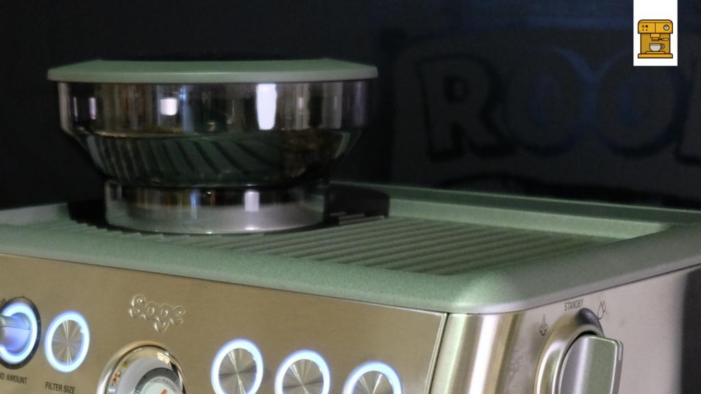 ingebaute Kaffeemühle