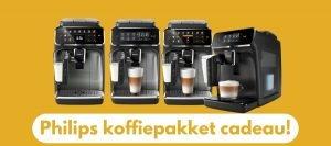Philips actie: Koffiepakket Cadeau (t/m 3 januari 2021)