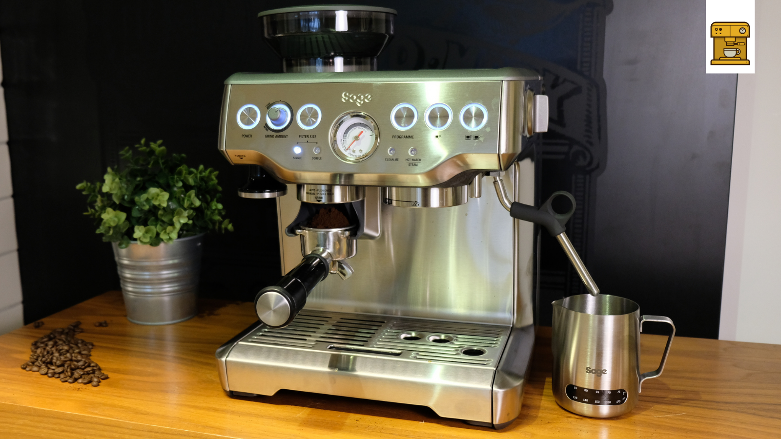 Sage espresso machine