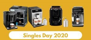 Singles Day 2020: Alle koffiemachine aanbiedingen