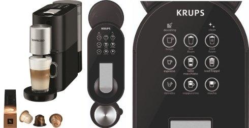 Beste Nespresso machine met melkopschuimer: Krups Atelier