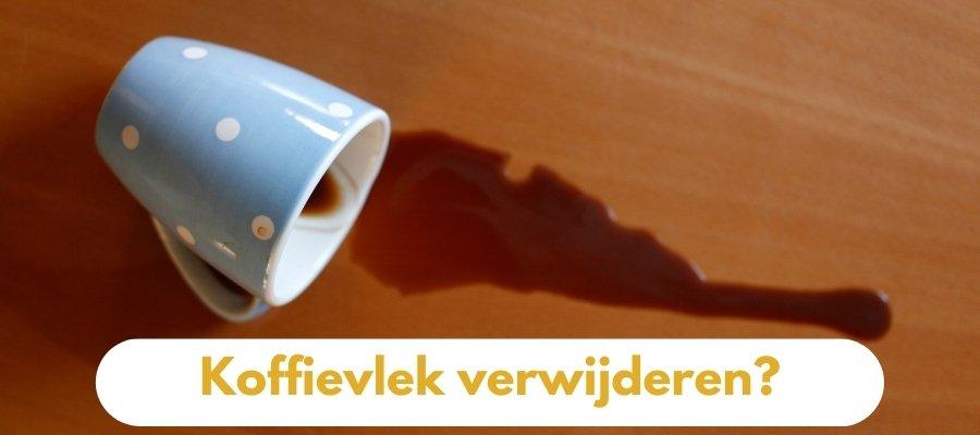 Koffievlek verwijderen? Zo doe je dat!