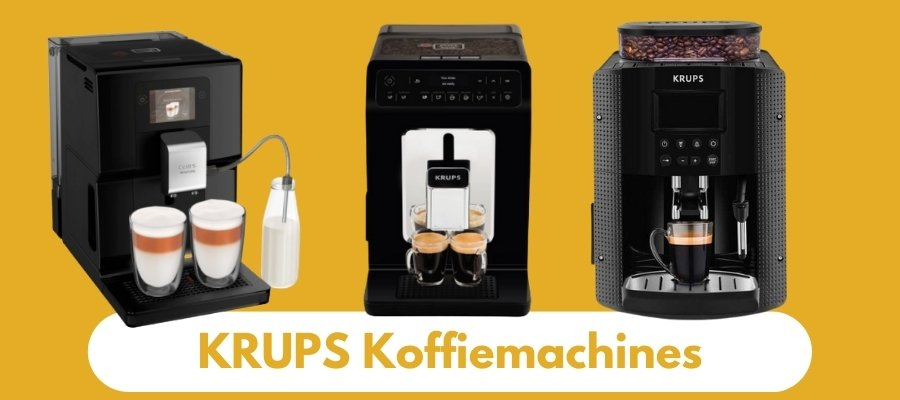 Beste Krups Koffiemachines