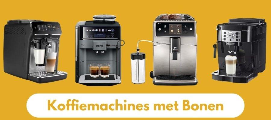 koffiemachines met bonen