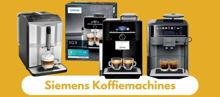 Siemens koffiemachines