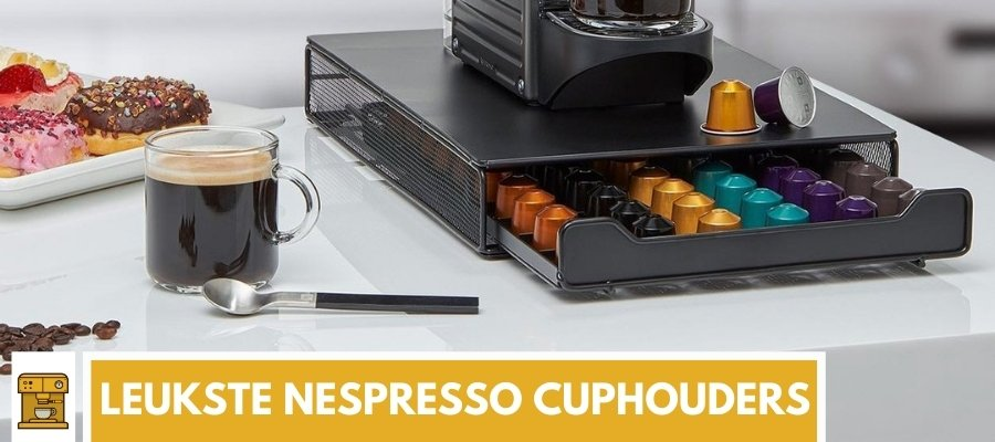 Nespresso cuphouders