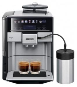 Siemens Kaffeevollautomat mit Milchschlauch