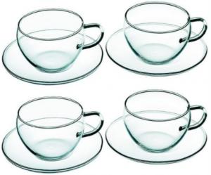 Bohemia Cappuccinotassen hitzebeständigem Gläser