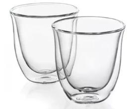 DeLonghi Cappuccinotassen Glas