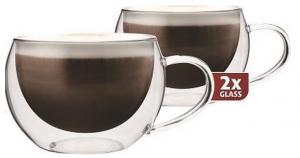 Maxxo Doppelwandige Gläser Cappuccino